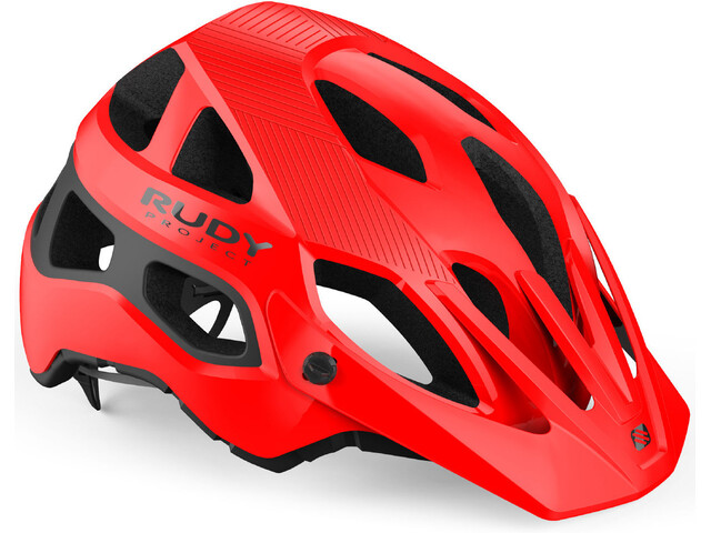 Rudy Project Protera Fietshelm, red-black shiny-matte
